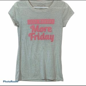Less Monday More Friday by Wound Up Graphic Tee M